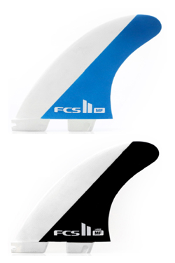 [서프보드핀]FCS II MF PC Tri Retail Fins BLUE/BALCK