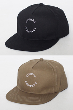[의류][모자]CIRCLE THRILLS SNAPBACK 스릴스 서클 스냅백 2COLOR(BLACK/ARMY)