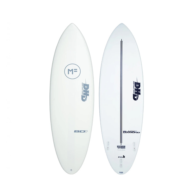 MICK FANNING  5`10 DHD BLACK DIAMOND - WHITE FCSII 3F 믹패닝 5`10 DHD블랙 다이아몬드 화이트